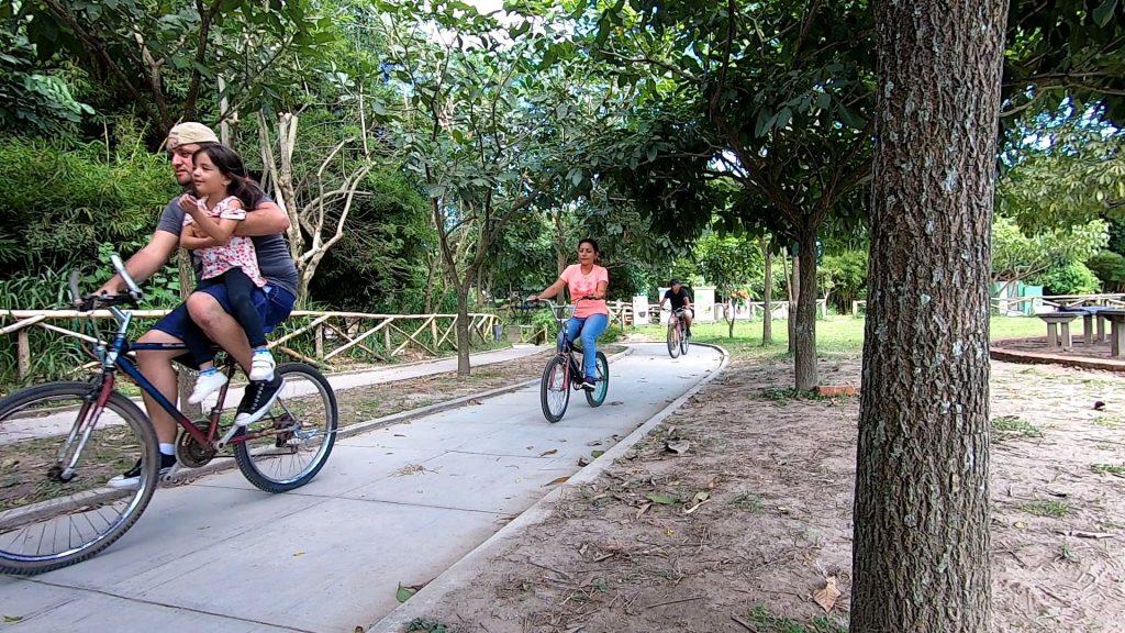 ciclo via del parque bicentenario