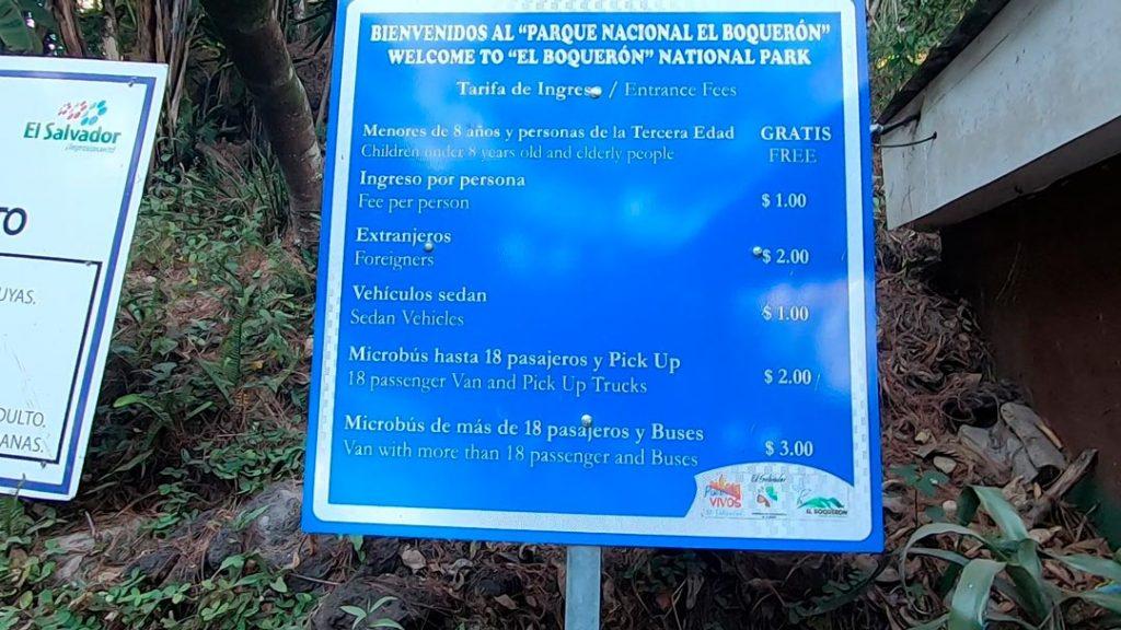 precios del parque el boqueron